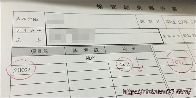 体外受精HCG0.5以下
