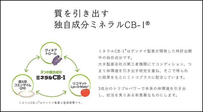 卵子の老化とミネラルCB-1